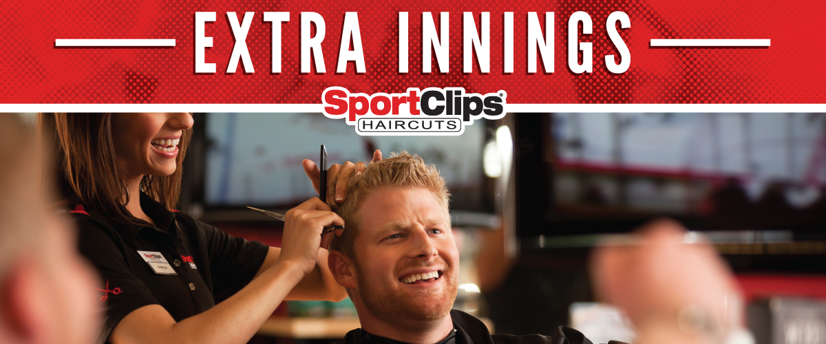 The Sport Clips Haircuts of Colonial Heights   Extra Innings Offerings